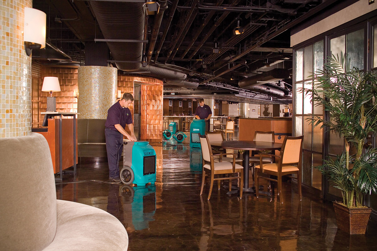 Commercial Water Damage South Carolina